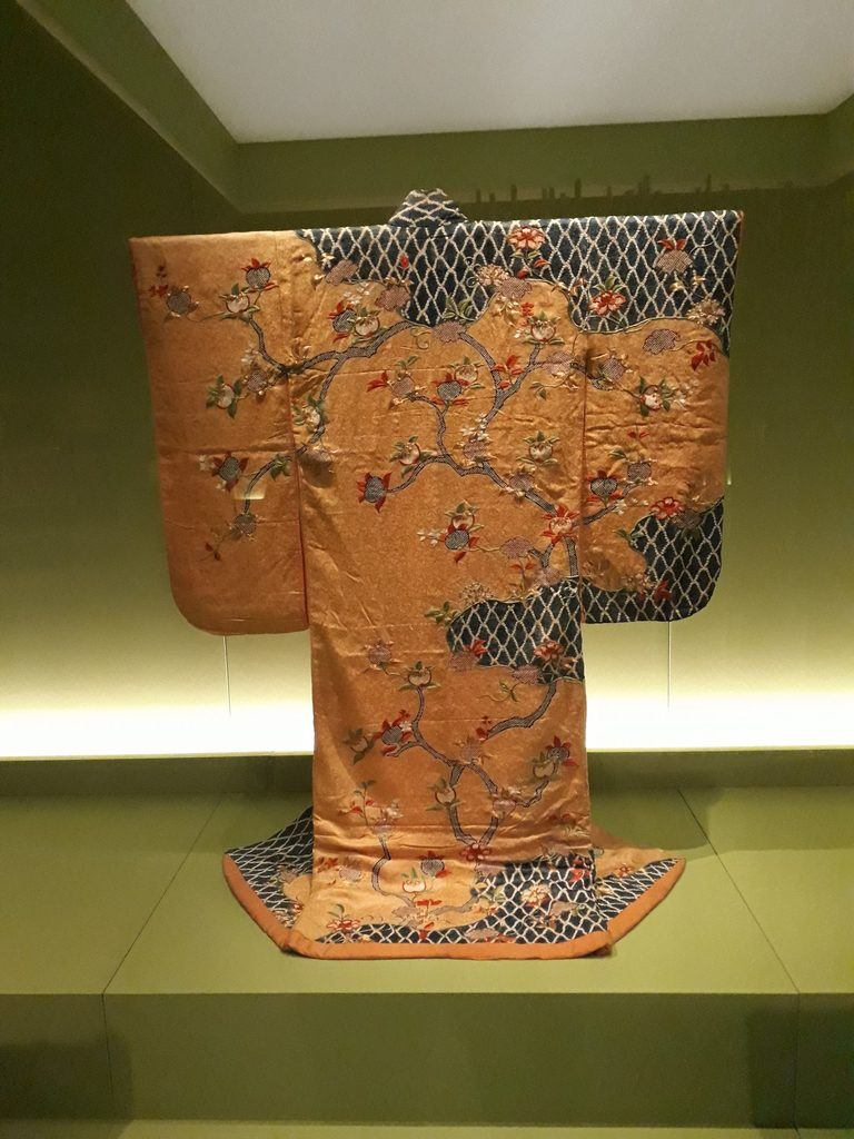 Kimono for a samarui class woman